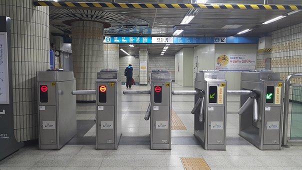 Subway, Underground, History, Entrance
