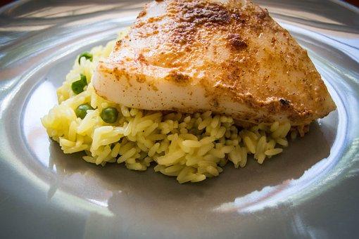 Calamari, Steak, Seafood, Meal, Fish, Healthy
