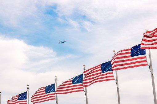 Flag, American, Usa, United, Patriotic, Symbol