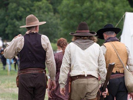 American, Re-enactment, History, Living History