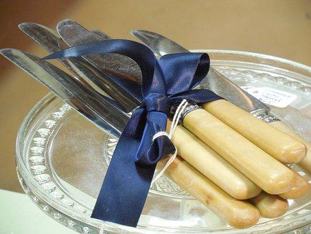 Utensils, Knives, Knife, Kitchen, Food, Restaurant