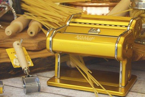 Pasta, Machine, Shop, Window, Kitchenware, Spaghetti