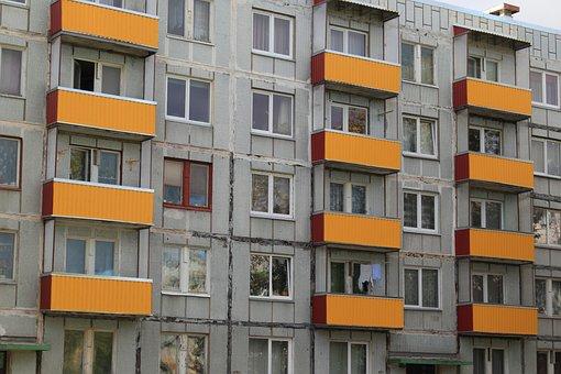 Latvia, Liepaje, Karotsta, Russian, Housing, Flats