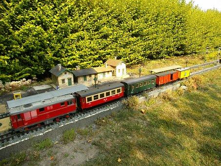 Garden Railway, Narrow Gauge, Diesel Locomotive, Lgb