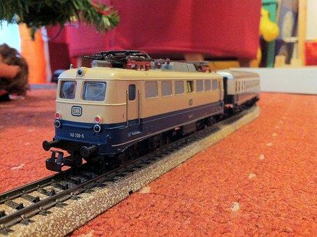 Model Railway, Märklin, Locomotive, Electric Locomotive