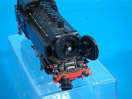 Märklin, Steam Locomotive, Scale H0, 1950s