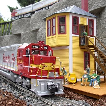 Garden Trains, Miniature, Model Railway, Train, Engine