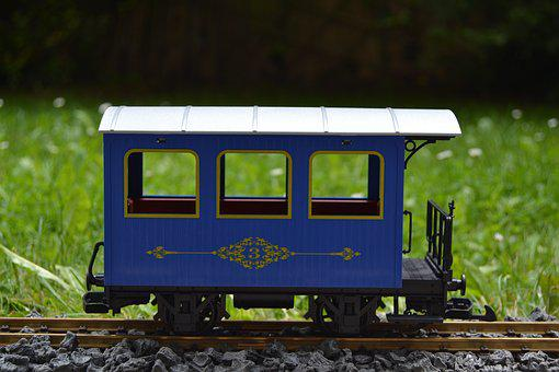 Railway, Lgb, Track 1, Passenger Cars, Model Railway