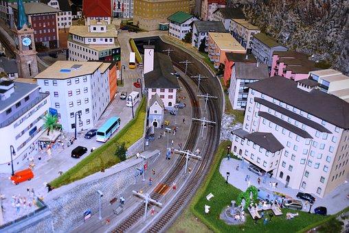 Model Railway, Model Railroad, Toy Train, Model Town