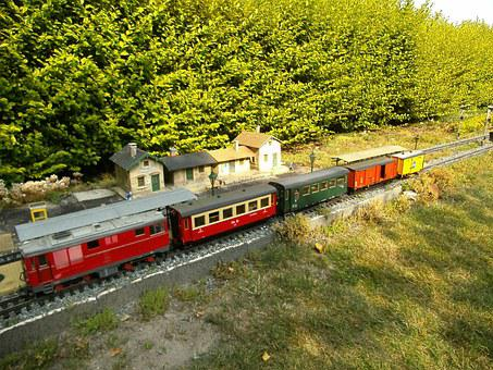 Garden Railway, Narrow Gauge, Diesel Locomotive, Lgb
