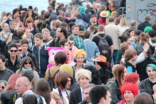 Crowds, Mass, Collection, People, Event