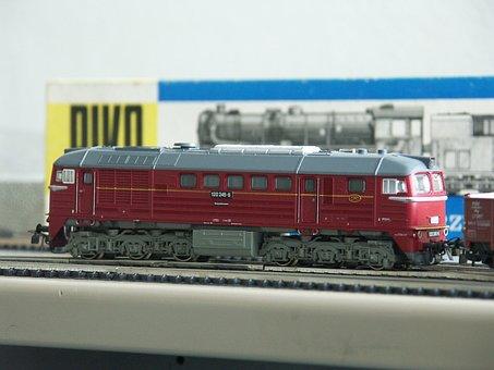 Model Railway, Piko, Diesel Locomotive, Taiga Drum