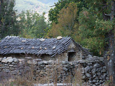 Barn, House, Rustic, Rural, Stone, Wood, Shack