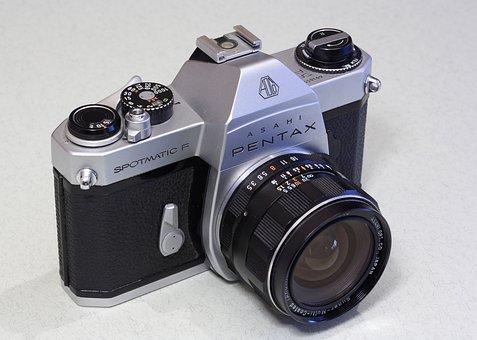 Asahi, Pentax, Spotmatic, Spotmatic F, Camera, 35 Mm