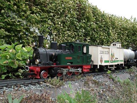 Garden Railway, Steam Locomotive, Spreewald