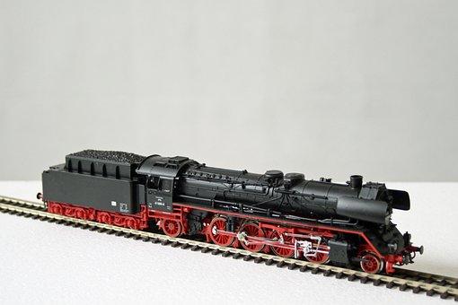 Model Railway, Steam Locomotive, Railway, 1950s