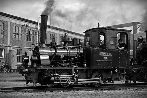 Loco, Steam Locomotive, Locomotive, Franzburg