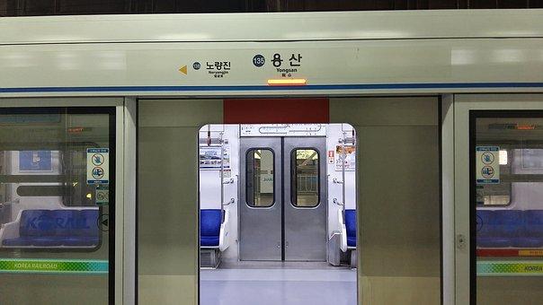 Subway, Railway, Coach, Train Station, Train