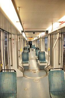 Metro, Subway, Inside, Empty, Underground, Train, Urban