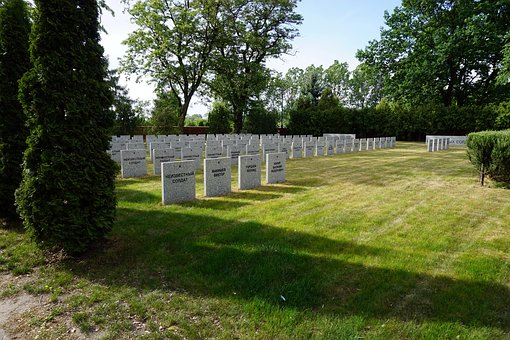Cemetery, Tombstones, Graves, Kościan, The Dead