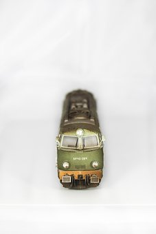 Paper Model, Choo Choo Train, Locomotive, Pkp, Train