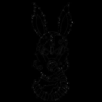 Rabbit, Bunny, Robot, Steampunk, Hare