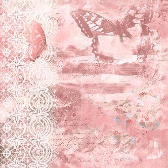Digital Paper, Background, Vintage