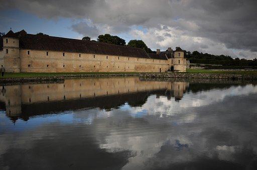 Castle, Domain, Field Of Villarceaux