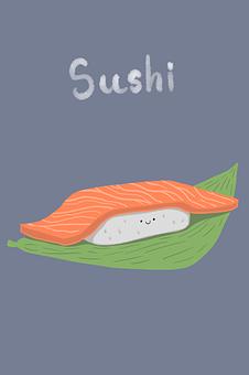 Food, Sushi, Fish, Japan, Japanese, Rice, Salmon, Eat