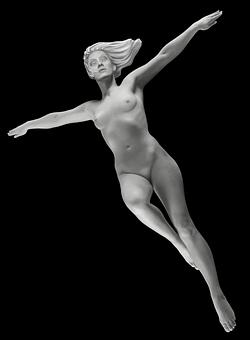 Girl, Naked, Naked Girl, Model, Posture, Female Body