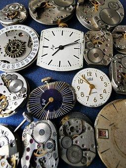 Steampunk, Watches, Clocks, Antiques, Gear, Stars