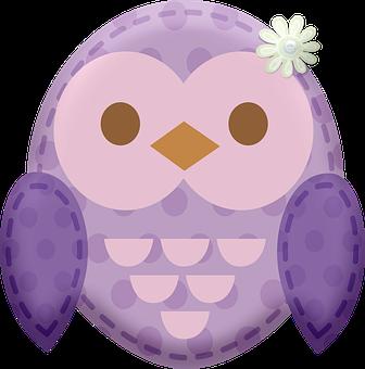 Kawaii Animal Patches, Kawaii Owl, Animals, Kawaii