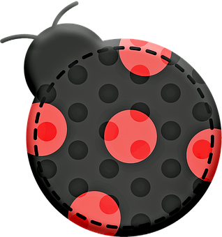 Kawaii Animal Patches, Kawaii, Animals, Kawaii Ladybug