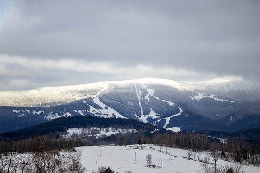 Mountain, Landscape, View, Nature, Sky