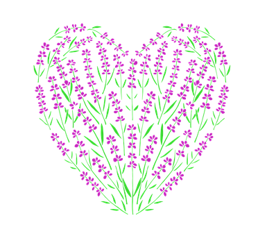 Lavender, Heart, Love, Hearts, Sweetheart, Thank You
