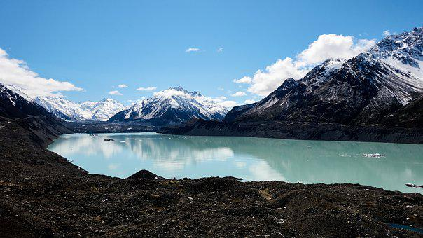 New Zealand, Mount Cook, Mountains