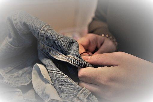 Sew, Patch, Stuff, Hand Labor, Pimp Up, Needle, Thread