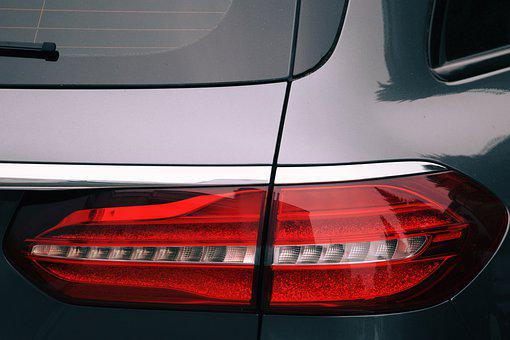 Back Light, Auto, Red, Color, Vehicle, Oldtimer, Jam