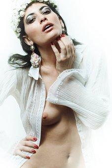 Nude, Tits, Sexy, Sensual, Female, Seductive, Body