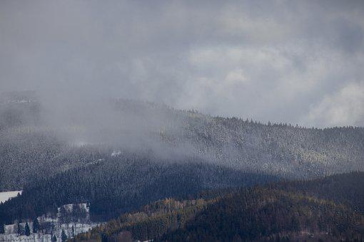 Mountain, View, Snow, Winter, Ski, Landscape, Nature