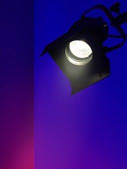 Light, Spotlight, Lighting, Video Production, Fresnel