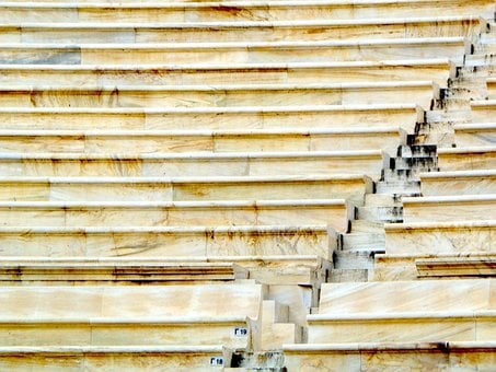 Ancient Theater Of Herodes, Acropolis Of Athens