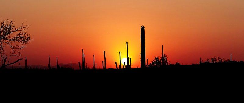 Sunset, Arizona, America