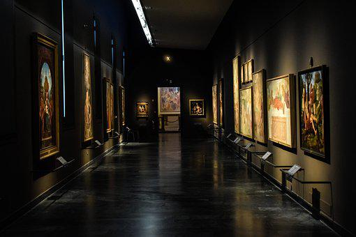 Pinacoteca Di Brera, Art, Paintings, Interior, Gallery