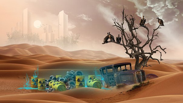 Desert, Recycling, Barrel, Contamination Of The, City