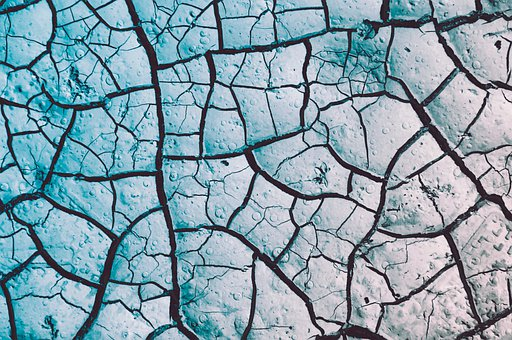 Desert, Soil, Dry, Nature, Clay, Texture, Cracked
