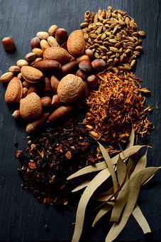 Dried Fruits, Leaves, Dried Flowers