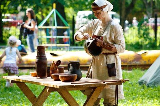 Ethno, Festival, Costumes, Culture