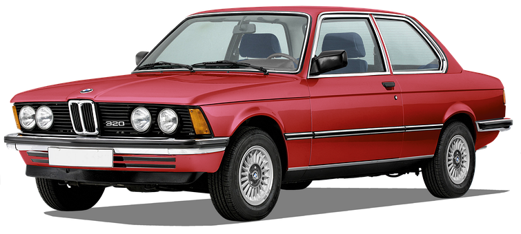 Bmw, 320, Born In 1978, Free Colored, And Re-edited