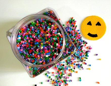 Pyssla, Games, Ikea, Children, Colors, Fun, Smile